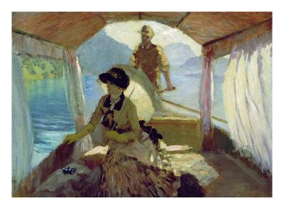 On the Lake of Quattro Cantoni, 1881