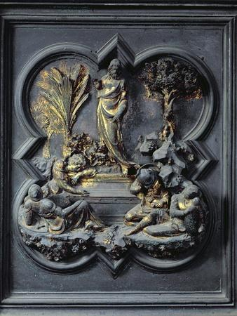 The Resurrection of Christ, Nineteenth Panel of the North Doors of the Baptistery of San Giovanni