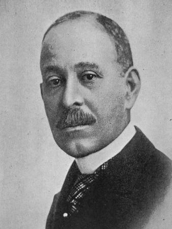 Daniel Hale Williams (1856-1931) (B/W Photo)