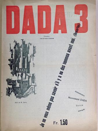 Revue Dada No.3, December 1918 (Colour Litho)