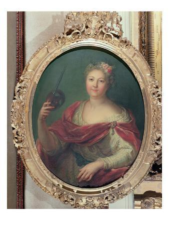 Mlle Desmares as Thalia, Muse of Comedy, c.1720