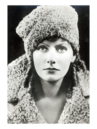 Greta Garbo in the Role of Anna Karenina (B/W Photo)