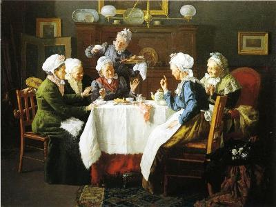 A Grandmother's Tea Party, 1915