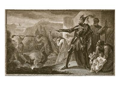 Edward I Removing the Stone from Scone, Engraved by Neagle