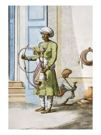 Hookah Burdar, or Huka Bearer
