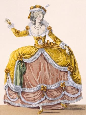 Grande Robe a La Sultane', Plate No.167 from 'Galeries Des Modes Et Costumes Francais', C.1778-87