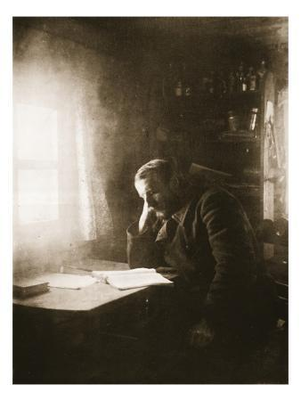 Political Exile in Siberia, 1890S (Sepia Photo)