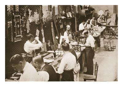 Prisoners Making Models and Toys, Alexandra Palace