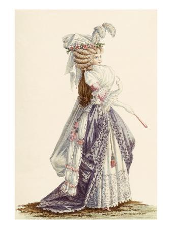 Lady's Robe 'A La Grecque', from 'Galeries Des Modes Et Costumes Francais', C.1778-87