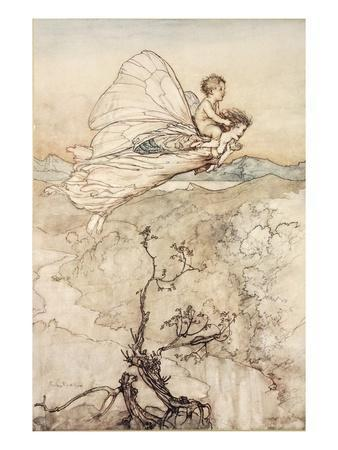 ..And Her Fairy Sent to Bear Him to My Bower in Fairy Land