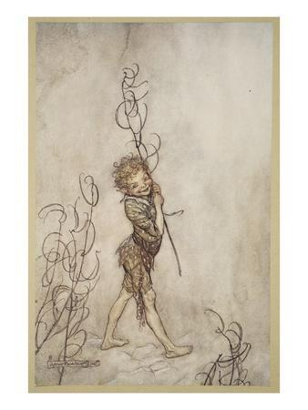 Lord, What Fools These Mortals Be!, Illustration from 'Midsummer Nights Dream'