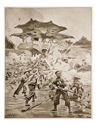 The Chino-Japanese War, the Battle of Ping Yang: a Struggle for the Outlying Forts