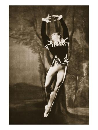 Andre Eglevsky in Swan Lake, from 'Grand Ballet De Monte-Carlo', 1949 (Photogravure)