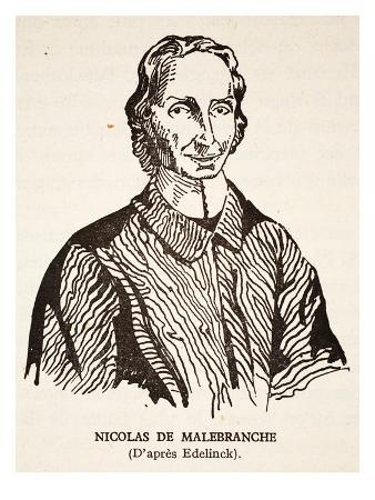 Nicholas De Malebranche (Litho)