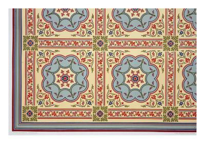Medieval Style Designs for Ceiling Bosses, from 'The Practical Decorator and Ornamentalist'