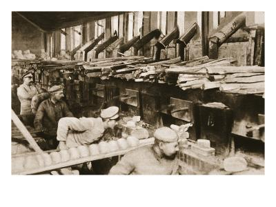 From the German Side: Making War Bread in a Field-Bakery of Von Hindenburg's Army