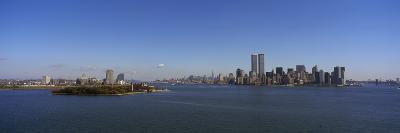Skyscrapers at the Waterfront, Ellis Island, Manhattan, New York City, New York State, USA