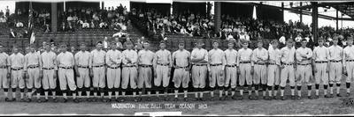 Washington Baseball Team 1913