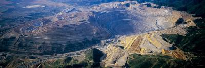 Aerial View of Copper Mines, Utah, USA
