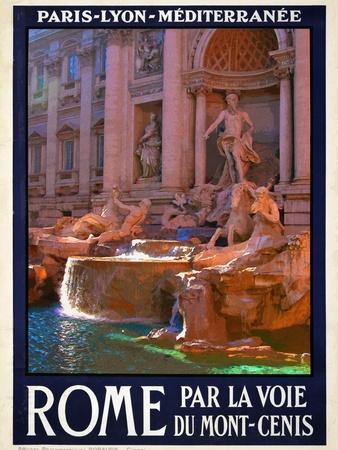 Trevi Fountain, Roma Italy 4