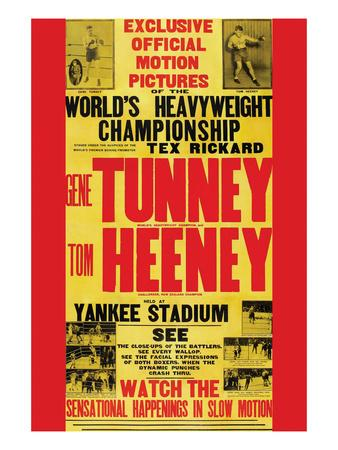 Tunney Vs. Heeney