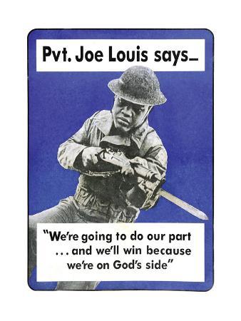 Private Joe Lewis Says…