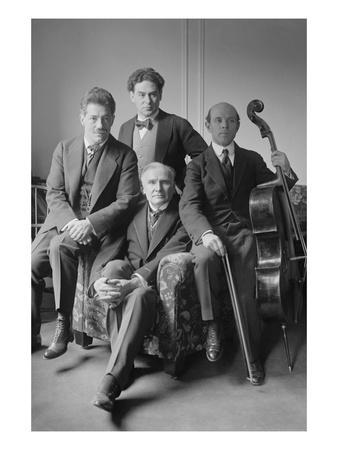 Quartet Kreisler, Brave, Casals and Damrosch