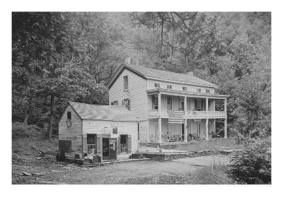 Rip Van Winkle House, Sleepy Hollow, Catskill Mountains, N.Y.