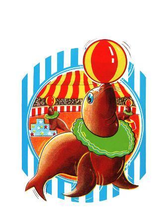 Balancing Circus Seal