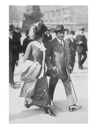 Mr. and Mrs. Enrico Caruso