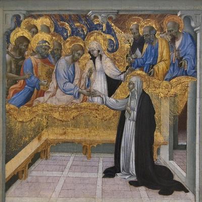 Mystic Marriage of Saint Catherine of Siena