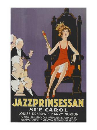 "Exalted Flapper ""Jazzprinsessan"""