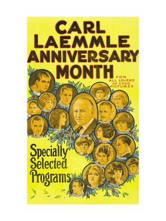 Carl Laemmle Anniversary Month