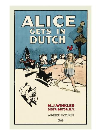 Alice Gets in Dutch