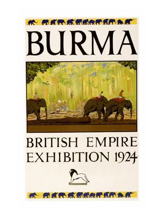 British Empire Exhibition - Burma