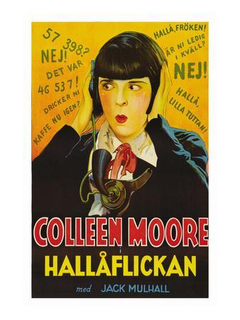 "Telephone Operator ""Hallaflickan"""