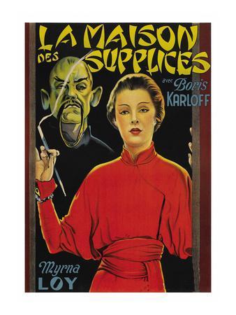 """Mask of Fu Manchu """"La Maison Des Supplices"""""""