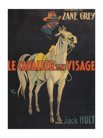 """Mysterious Rider """"Le Cavalier Sans Visage"""""""
