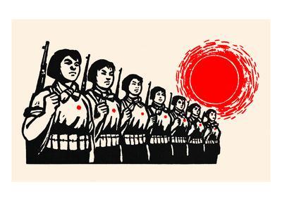 Women Fight under the Red Sun