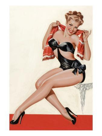 Wink Magazine; Silk Stockings and High Heels