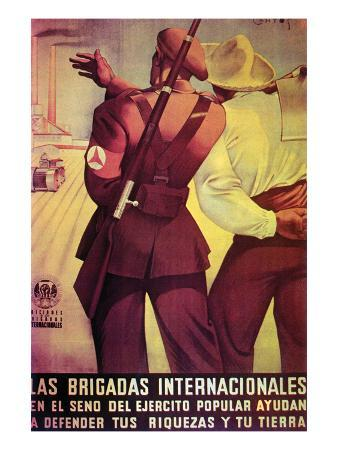 The International Brigades Defend Your Resources and Your Land