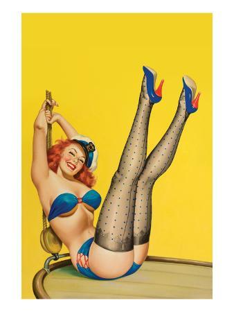 Flirt Magazine; Sailor Girl