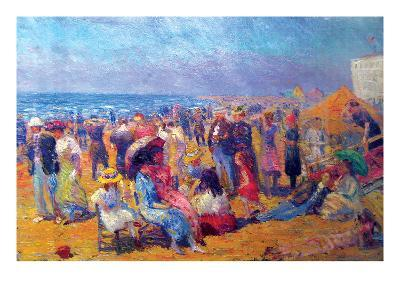Crowd at the Beach