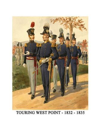 Touring West Point - 1832 - 1835