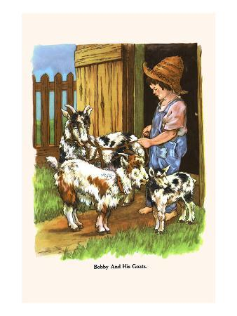Bobby and His Goats