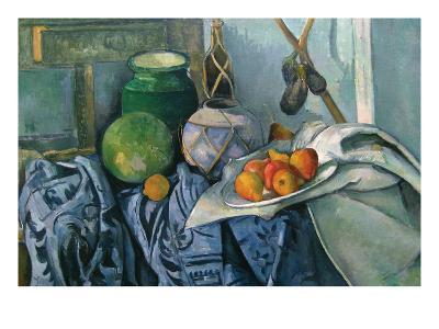Still Life with Ginger Jar and Egg Plants