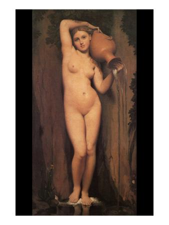 La Source; Nude with Pitcher