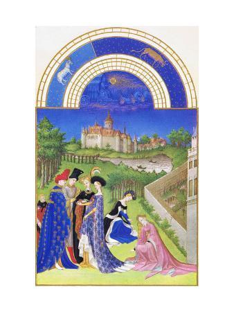 Le Tres Riches Heures Du Duc De Berry - April