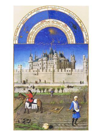Le Tres Riches Heures Du Duc De Berry - October