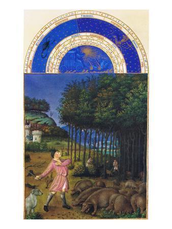 Le Tres Riches Heures Du Duc De Berry - November